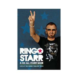 Ringo Starr Live at the Greek Theatre 2008 DVD  Shop Ticketmaster