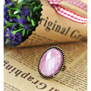 Fashion Lovely Retro Style Big Rhinestone Ring