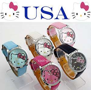 Hello Kitty Ladies Quartz Watch ~ Gift Tote Bags Available at Checkout