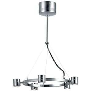 Lite Source Piston 5 Light Hanging Pendant Decor
