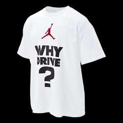 Nike Jordan Why Drive Mens T Shirt