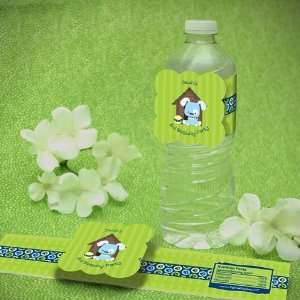 Boy Puppy Dog Birthday Party Water Bottle Labels Toys & Games