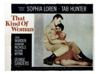 That Kind of Woman, Tab Hunter, Sophia Loren, 1959 Photo at AllPosters