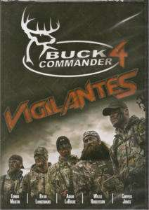 Buck Commander 4 ~ VIGILANTES ~ Deer Hunting DVD New