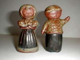 Black Memorabilia Boy/Girl Couple Salt Pepper Shakers