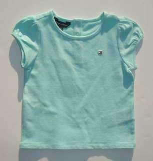 NWT New Tommy Hilfiger Girls Classic Logo Shirt 3 6m