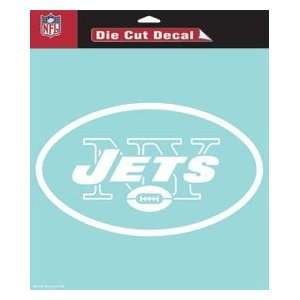 New York Jets 8X8 Die Cut Decal