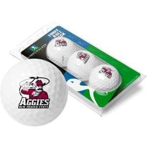 New Mexico State Aggies NMSU NCAA Golf Ball Pack Sports