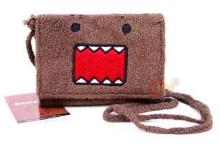 Domo Kun Plush Tri Fold Wallet with Removable Strap  Classic