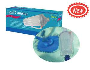 Swimming Pool Cleaner Leaf Trap Canister Aussie Gold