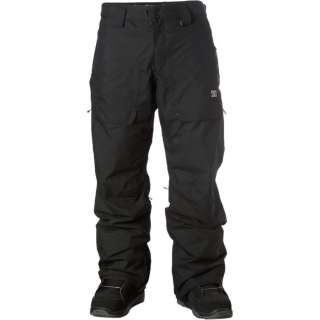 DC Baker Snow Pants Mens Black Outerwear Snowboard 15k 15gr