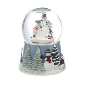 Medium Snowman Snow Globe Christmas Ornament