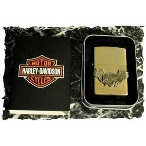 Harley Davidson Shld/Wng Zippo Lighter