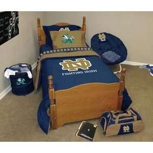 Notre Dame Full/Queen Bed in a Bag  Sports & Outdoors