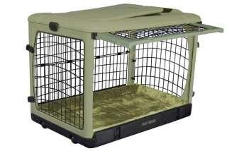 Pet Gear 4 door folding dog kennel crate cage PG5942BBR
