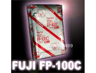Instant Color Film FP 100C FP100C x10 prints Polaroid Holga Camera