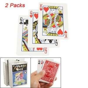 Como 2 Pcs Change Poker Expert Playing Cards Magic Props: Toys & Games