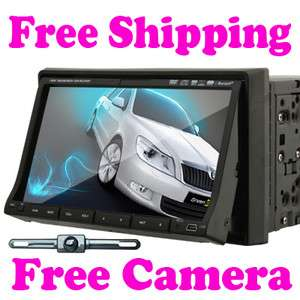 Indash HD 7Car Stereo CD DVD Player with Radio +Camera