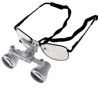 420mm SURGICAL DENTAL MEDICAL 3.5X LOUPES white