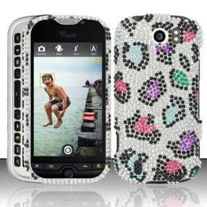 HTC myTouch Slide 4G (T Mobile) Full Diamond Bling Rhinestones Snap On