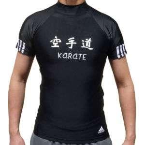 Adidas Karate Lycra Rashguard T Shirt