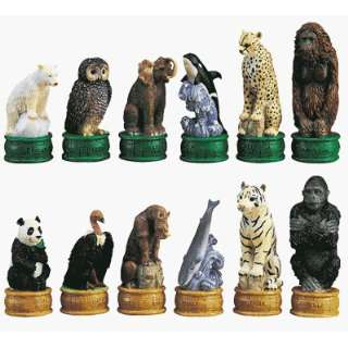 Seya CS 015 Endangered Species Chess Set Toys & Games