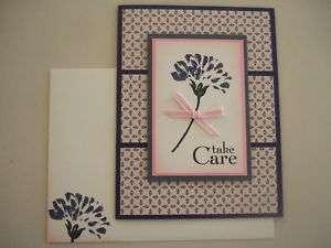 Stampin Up Love & Care Handmade Sympathy Card