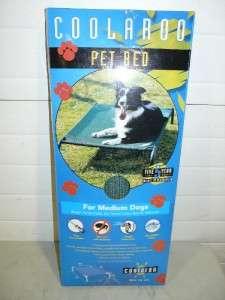 New Coolaroo Pet Dog Bed Mesh Raised Steel Medium Bed