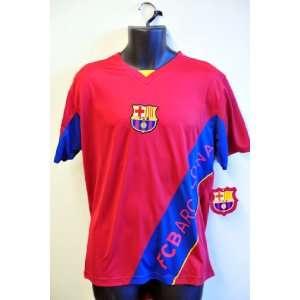 FCB Barcelona Team Logo Jersey   005