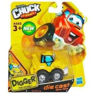 Tonka Chuck & Friends   Digger The Dozer Truck   Die Cast Metal Truck