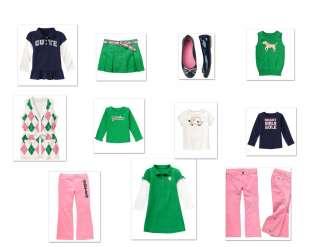 Gymboree Smart Girls Rule Tops/Skorts/Pant Sz 6/8 NWT