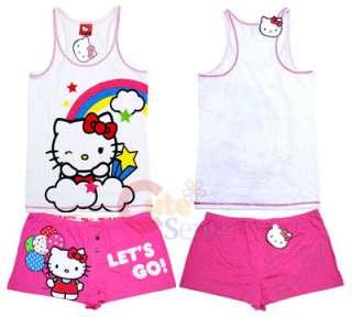 Sanrio Hello kitty Tank Top Pants Sleepwear  Zoom Zoom