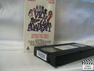 Vice Academy * VHS * Linnea Quigley, Ginger Lynn Allen 086625445136