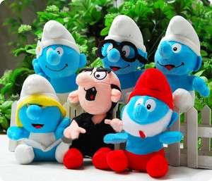 SMURFS Boy girl Stuffed Plush Doll Toy cute Character Soft Plush Toys