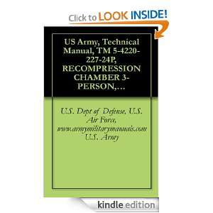 US Army, Technical Manual, TM 5 4220 227 24P, RECOMPRESSION CHAMBER 3