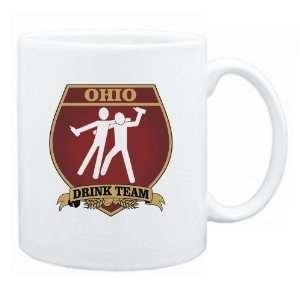 Ohio Drink Team Sign   Drunks Shield  Mug State