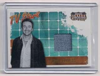 2008 Don. Americana TV Stars David Faustino Swatch Card