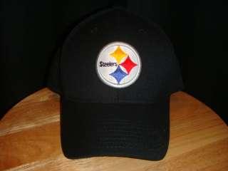 REEBOK PITTSBURGH STEELERS TEAM HAT CAP BLACK