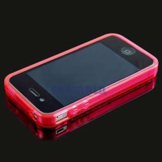 NEW Soft TPU Silicone Cover Skin Case for Apple iPhone 4G 4S