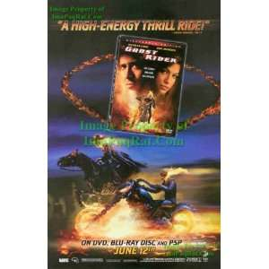 Ghost Rider Nicholas Cage Eva Mendes Great Original DVD Release