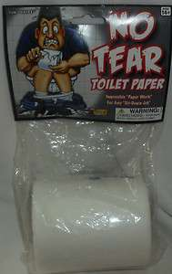 No Tear Toilet Paper * BRAND NEW * Funny Gag Gift *