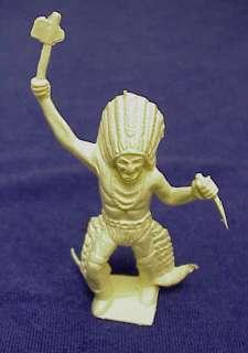 Marx Vintage 60mm Vinyl Roy Rogers Playset Indian *****