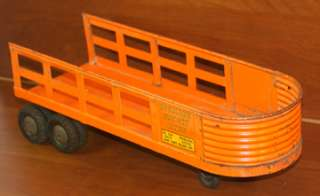 Structo Metal Toy Truck and Trailer Late 1940s/ Early 1950s?
