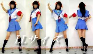 Halloween/Haruhi Suzumiya Uniform Cosplay Costume Made