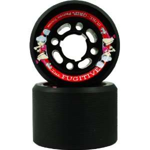 Black with Nylon Hubs Roller Derby Speed Skating Skaters Replacement