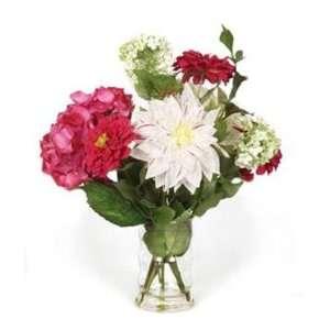 Bright Bouquet Mixed Floral Arrangement Home & Kitchen