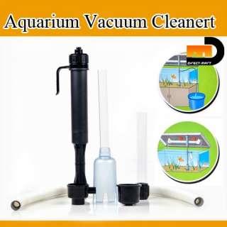 FISH TANK AQUARIUM WATER PUMP FILTER VACUUM CLEANER NEW