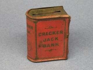 RARE Cracker Jack BOOK BANK Red