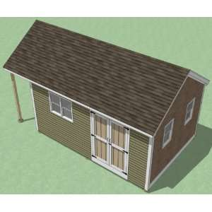 12x18 Shed Plans   How To Build Guide   Step By Step