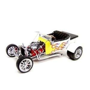 1925 Ford T Bucket White Custom 118 Diecast Model Toys